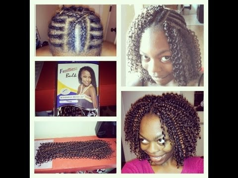 How To Do Crochet Braids With Freetress Bohemian Braid