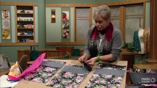 Sewing With Nancy - Sew Simple With Rectangles & Squares, Part 1 thumbnail