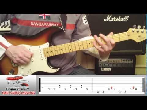 How To Play Sweet Dreams by Marilyn Manson on Guitar (main riff + TAB)