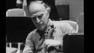 Menuhin plays Bach - Concerto in E Major, BWV 1042 - First Movement [Part 1/3]