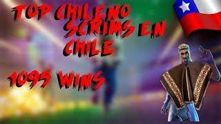 SCRIMS EN CHILE? (PS4) +1090 Wins, TOP CHILE | Fortnite Chile
