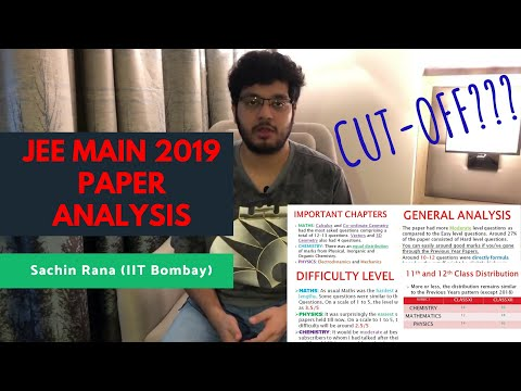 JEE Main 2019 Paper Analysis | Student Reactions | Reviews, Cut-off