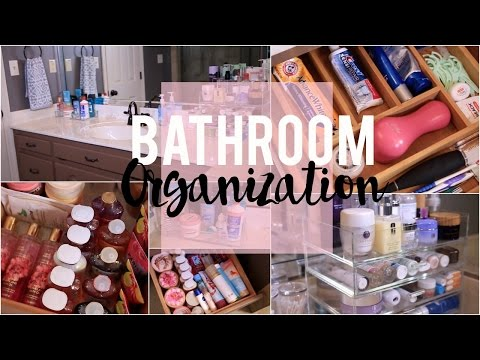 Bathroom Organization: Ideas & Tips! | NitraaB