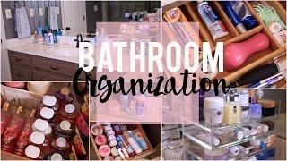 Bathroom Organization: Ideas & Tips! | NitraaB
