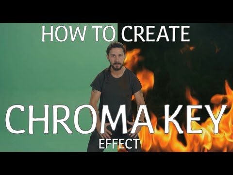 How To Make Chroma Key - Green Screen Effect?