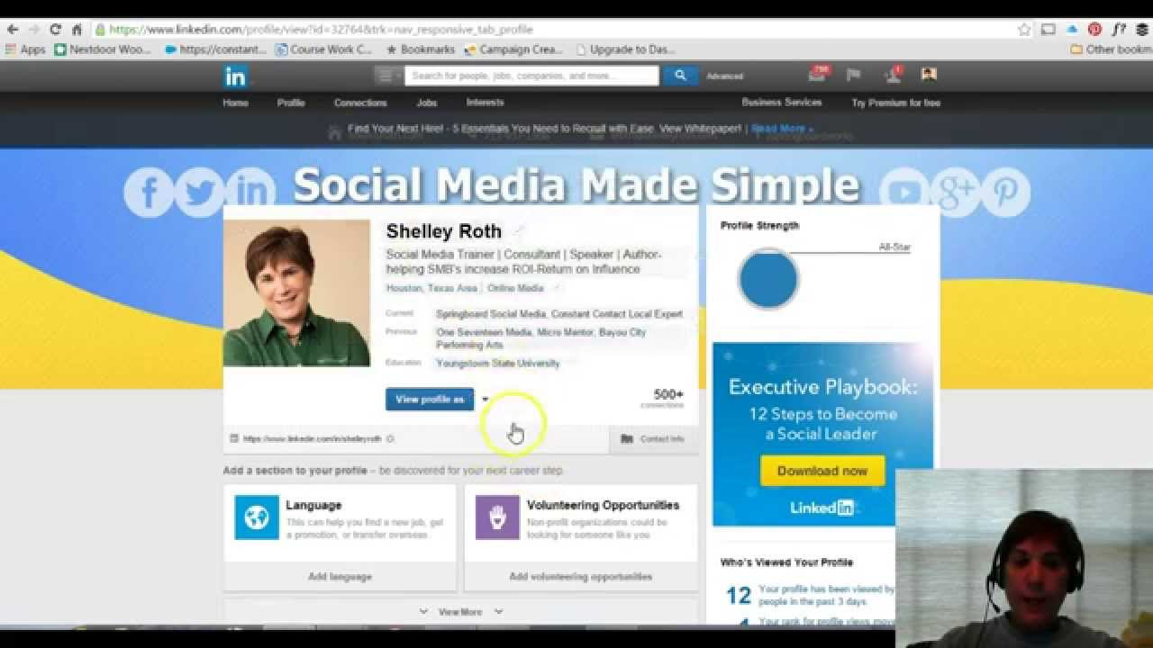 how to add your own custom skills to linkedin