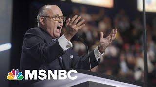 45 Problems? Giuliani Criminal Probe Expands As Trump Braces | MSNBC's The Beat