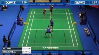 malaysia master 2017 QF  tontowi ahmad/ gloria wijaya vs wu/lin