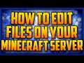 How To  Upload/Download Files To Your Minecraft Server [FileZilla]