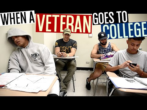 hqdefault when a veteran goes to college! youtube