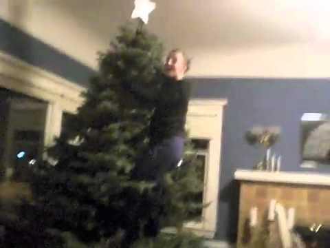 Decorating A Tree Like Buddy The Elf Youtube