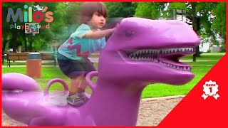 Colorful Videos for Toddlers with Milo - Learn Numbers for Children - Milo's Playground Season 1
