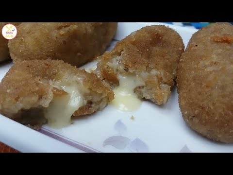Cheese Filled Potato Fingers By Food Media