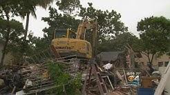 City Of Miami Demolishes Drug Homes In Little Havana