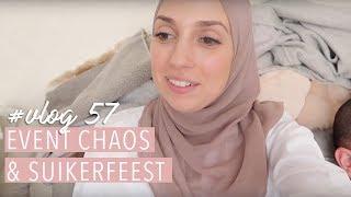 Event CHAOS & Suikerfeest voorbereidingen. Vlog #57. | Delia Skin Master