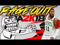 NBA 2K18 RAGE QUIT!!!! THIS GAME IS TRASH