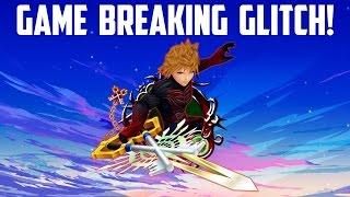 GAME BREAKING GLITCH! - Kingdom Hearts Union X