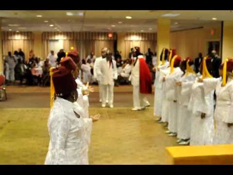 2010 NY Drill Team Julia Grand Court  Daughters of Isis and Mecca Syria  7 Temple Nobles