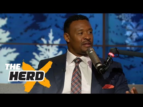 Willie McGinest talks Patriots, Jon Gruden and more | THE HERD (FULL INTERVIEW)