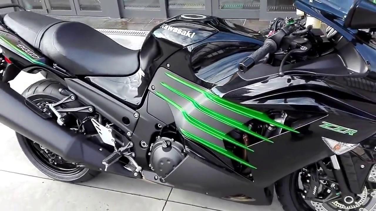 Kawasaki ZZR 1400 2017 - YouTube