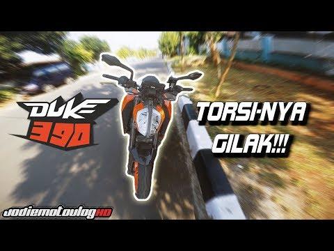 TORSINYA GAK NGOTAK!!!   Testride KTM Duke 390 2017 Indonesia