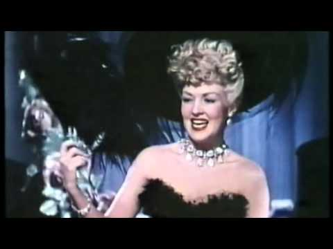 Betty Grable sings 'I Love You'