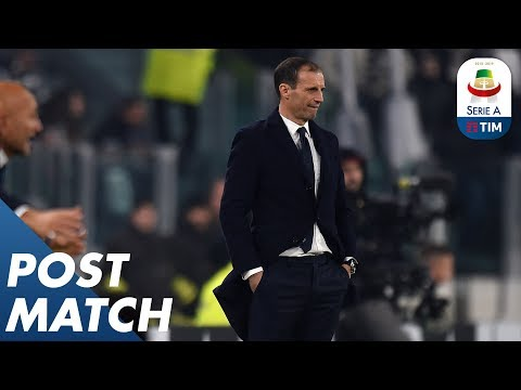 Juventus 1-0 Inter | Massimiliano Allegri Post Match Press Conference | Serie A