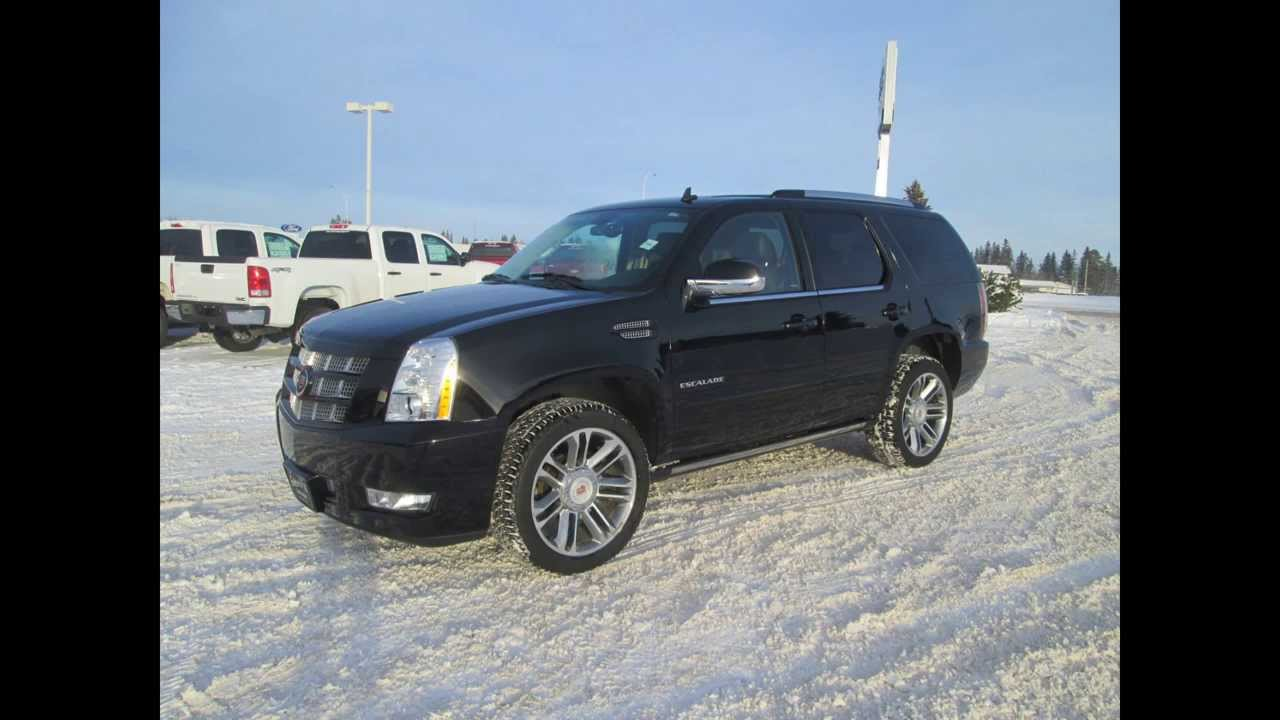 2013 Cadillac Escalade Platinum All Wheel Drive In Review Red Deer
