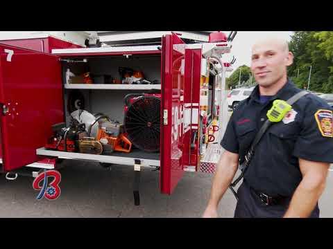 Bristol, CT Fire Department New Fire Truck