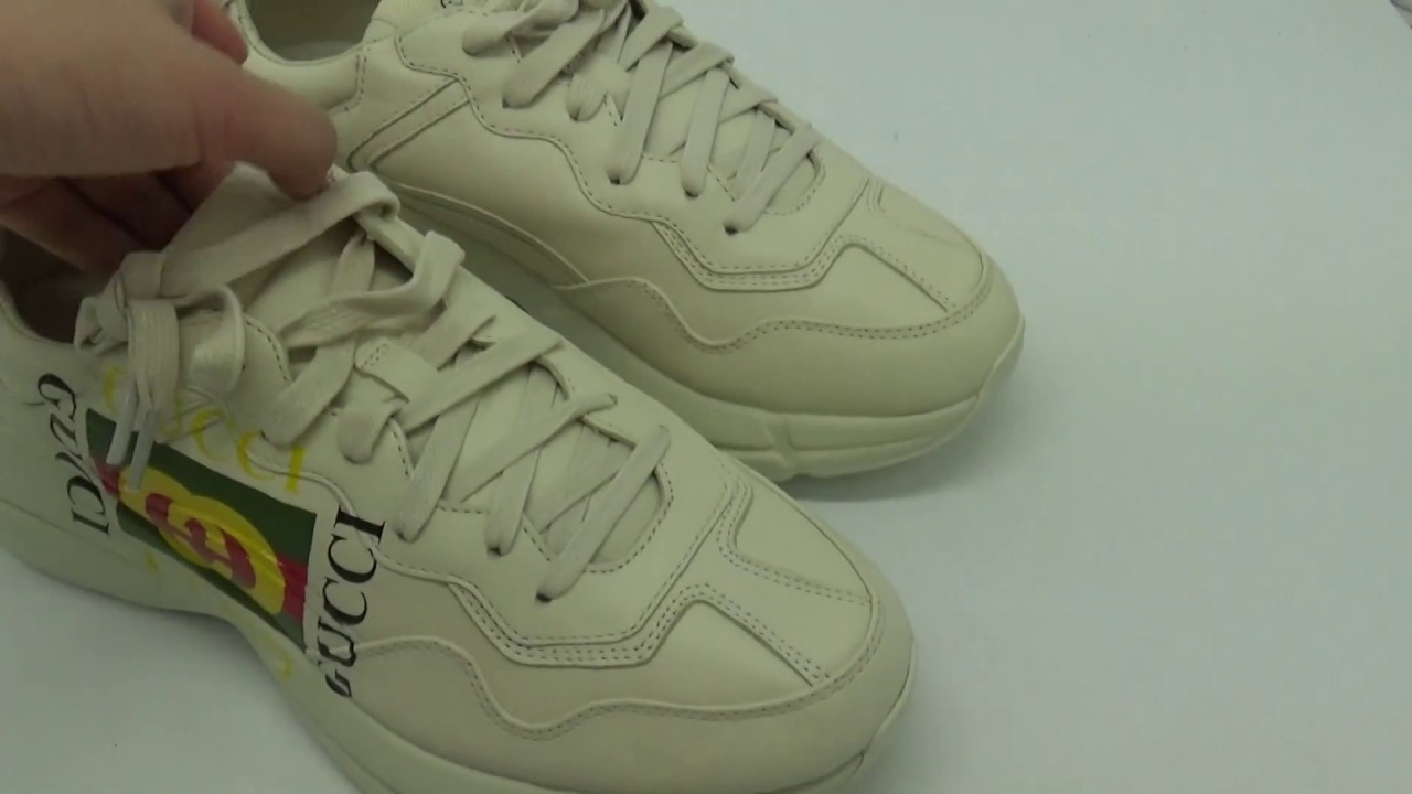 9e40a45a17a Gucci Rhyton Sneakers Unboxing   Review from Suplook - YouTube