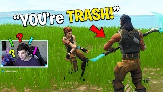 KID ROASTED ME in Playground Fill, then I bought him V Bucks! (Fortnite Battle Royale)