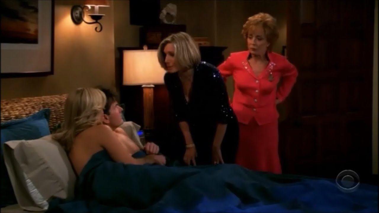 two and a half men - charlie in bed with his sister [hd] - youtube