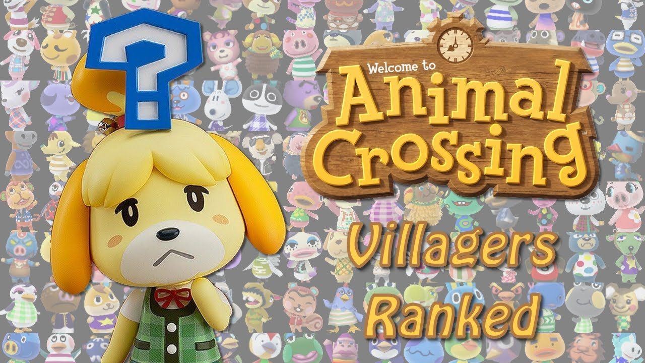 Rating all Animal Crossing villagers! - YouTube