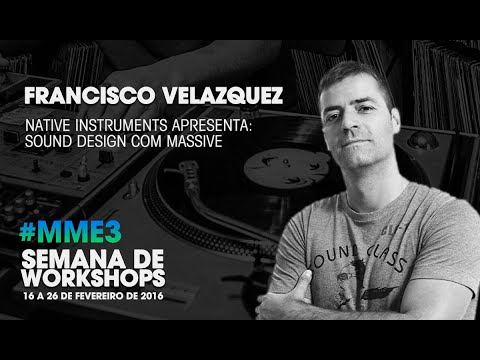 Sound Design com Massive (Native Instruments) com Francisco Velázquez