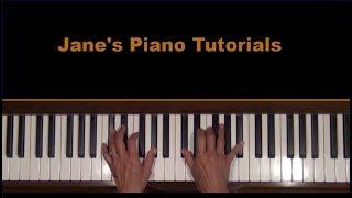 Albeniz Mallorca Barcarola Piano Tutorial SLOW