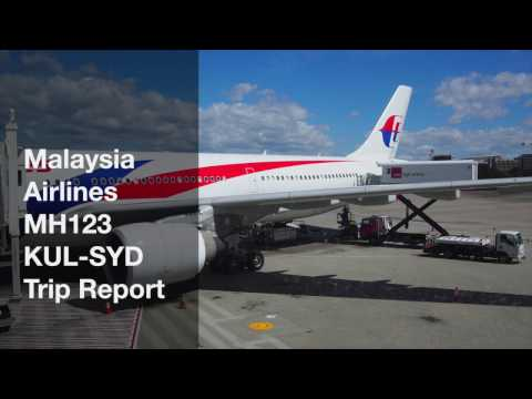 Malaysia Airlines MH123 KUL-SYD Trip Report