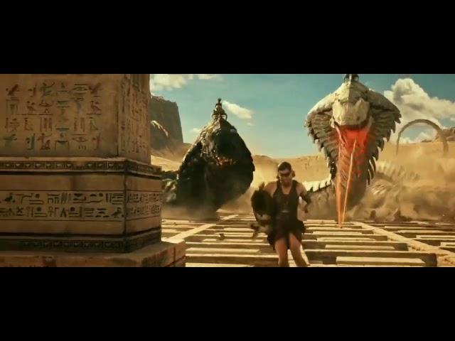 Extraordinary fight scene from gods of Egypt movie