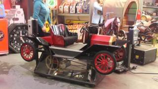 "1950s Coin-Op Amusement Kiddie Ride ""MODEL T"" Car by Bally"