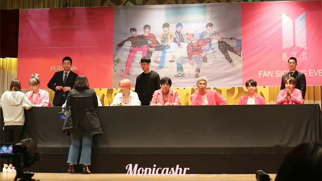 Download BTS Saat fanmeeting with fangirl Muslim