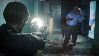 Resident Evil 2 Remake Demo  primeiras impressoes (LIVE)