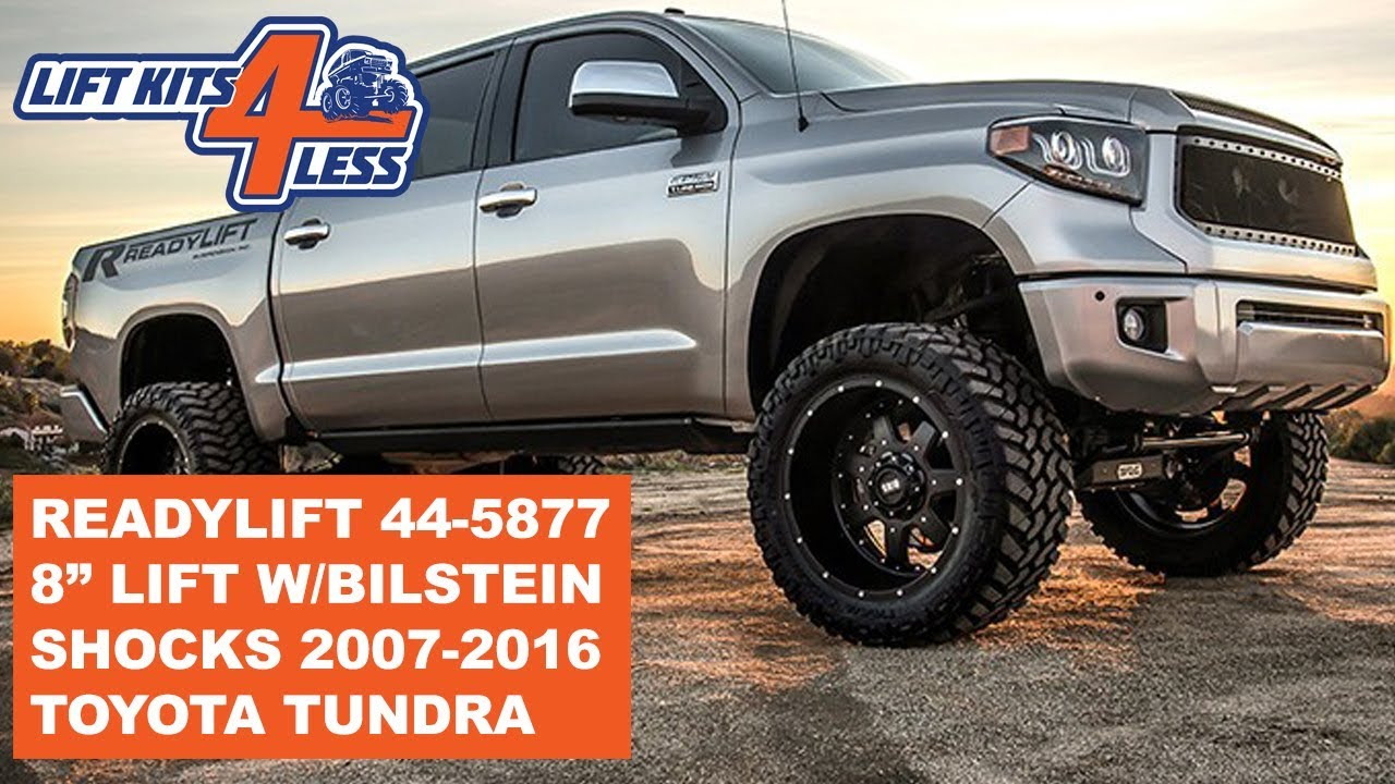 8 Inch Lift Kit >> Readylift 44 5877 2007 2017 Toyota Tundra 8 Inch Lift Kit W