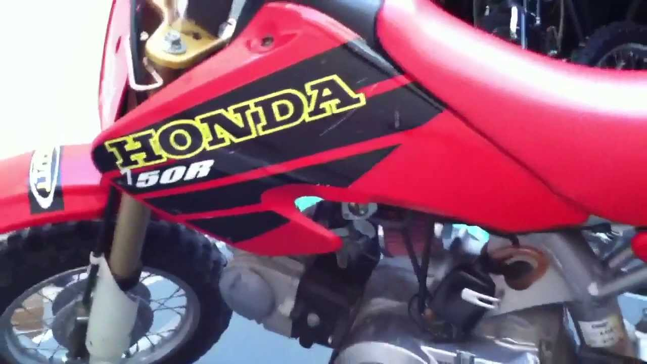 Xr/Crf 50 Important Mods - YouTube