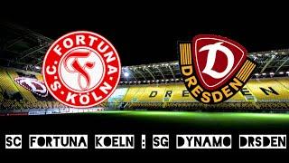 Zusammenfassung |SC Fortuna Köln - SG Dynamo Dresden 1:5 | 3. Liga | 12.09.2015