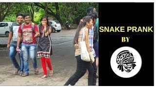 SNAKE PRANK IN PUBLIC | PRANK GONE WRONG | PRANKS IN INDIA BY …