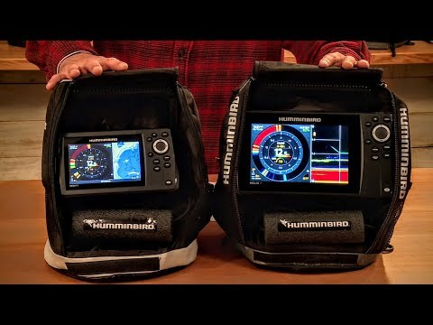New 2018 Must-Have Flasher Combo Units - Humminbird Ice Helix G2