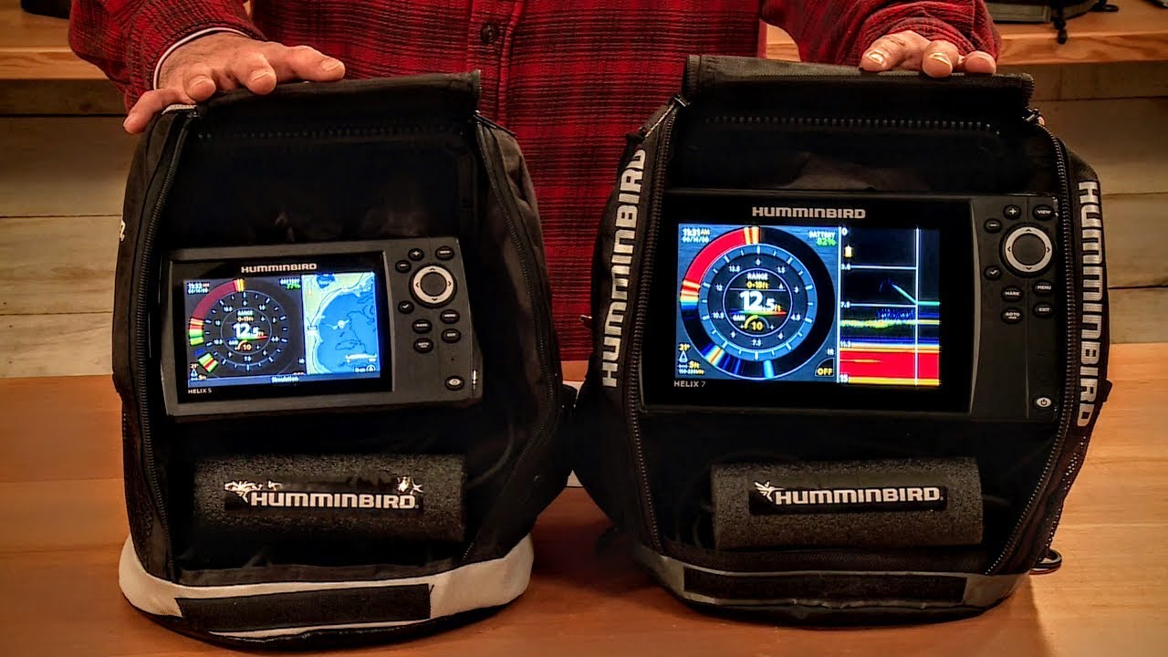 New 2018 must have flasher combo units humminbird ice for Best ice fishing sonar