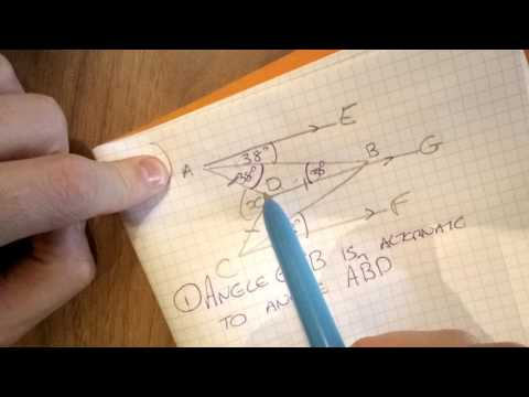 Q23 Missing Angles in Shapes Foundation Higher Non-Calculator Sample Assessment Material 9-1