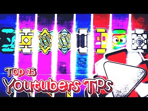 TOP 15 YOUTUBERS TEXTURE PACKS PARA GEOMETRY DASH 2.1 L ANDROID & STEAM L