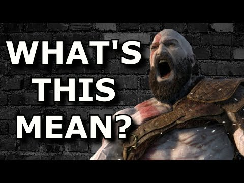 God of War (Ps4) Ending EXPLAINED! - And Does it Suck?