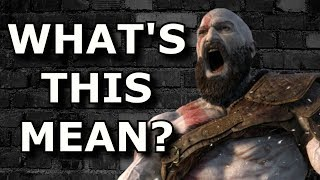 God of War Ps4 Ending EXPLAINED - And Does it Suck